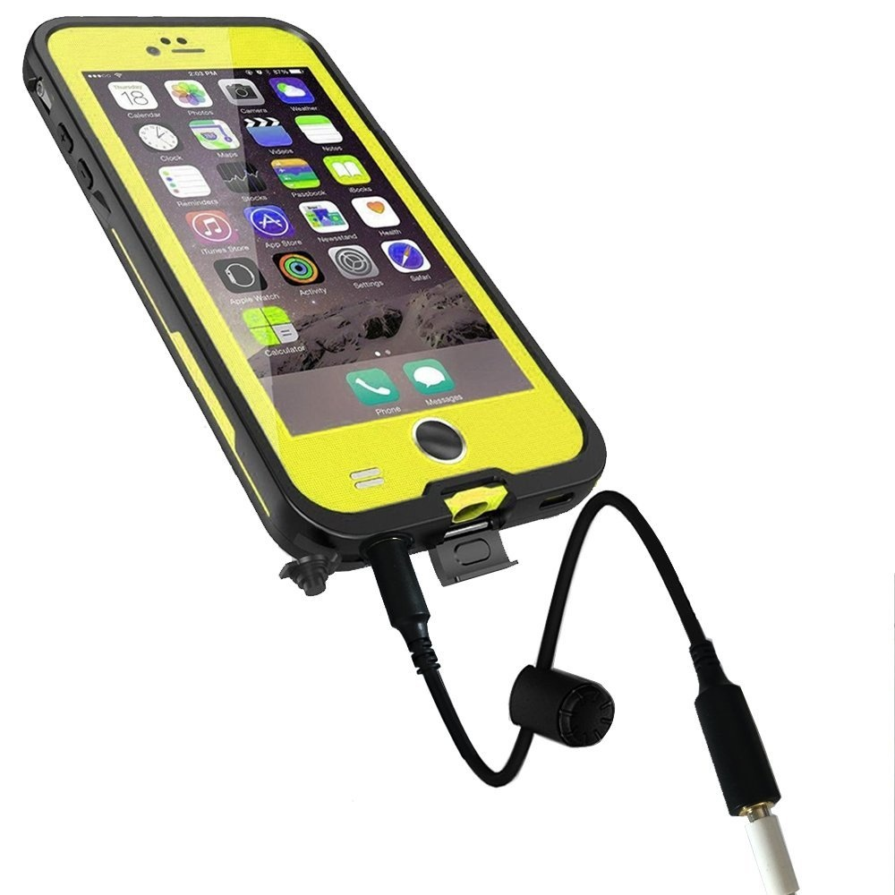 best service c9c06 bbc9f Waterproof Audio Extension Adapter for Lifeproof Fre Nuud Case of ...